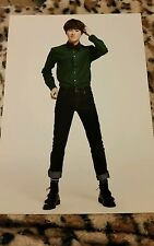 Exo suho m.i.d miracles in December  OFFICIAL Postcard Kpop K-pop