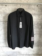 Alexander McQueen Shirt Black  SIZE IT 50 XL