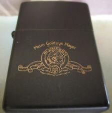Vintage METRO GOLDWYN MAYER MGM ZIPPO LIGHTER new insert NICE