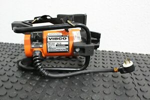 Vibco ACE Concrete Vibrator 115v 17a Great Condition 2017 Model FREE SHIPPING