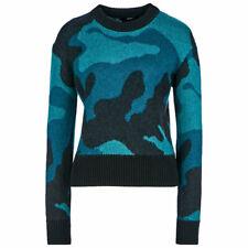 DIESEL M PIC Womens Sweatshirt Crew Neck Cardigan Casual Pullover Jumper Italy