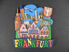 Magnet Frankfurt Germany,Römer,Flughafen,Skyline,RUBBER KOLLEKTION