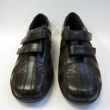 Aetrex Mary Double Strap E831W Ladies Leather Shoes with 2 Side Straps UK7 Lot B