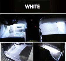 White LED Light Strips Car Interior Atmosphere Footwell Decor Cigarette Lighter