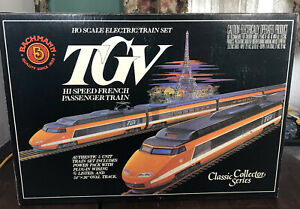Bachmann Ho Scale Electric Train Set HighSpeed French Passenger Collector Series