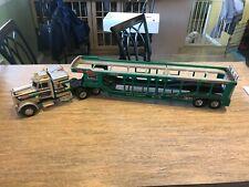 Shinsei Peterbilt Auto Carrier Truck Radio Control 1/24 Scale Shinsei Rc Truck J