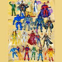 Marvel Legends X-Men Professor X Magneto Beast Wolverine Jean Grey Girl UPICK