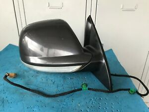 OEM 2008 VOLKSWAGEN TOUAREG 7L, 03-10, RIGHT DOOR MIRROR, 08 WIRES