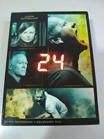 24 Sixth Stagione 6 Completa Kiefer Sutherland - 7 X DVD Spagnolo Inglese
