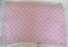 """Pottery Barn Kids Nora Pink Toddler Quilt Monogrammed """"Madelyn"""" Nla Nwt"""