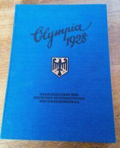 Olympia 1928 Amsterdam  sehr guter Zustand seltene Rarität