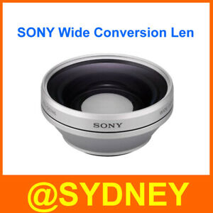 New Sony VCL-D0746 0.75x 46mm Wide Conversion Lens