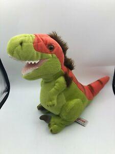 Aurora World Legendary Friends Green Dinosaur With Sound Plush Soft Stuffed Toy