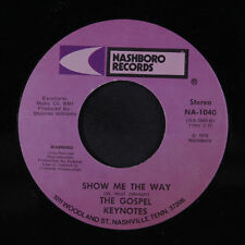 GOSPEL KEYNOTES: Ride The Ship To Zion / Show Me The Way 45 (funky Gospel Soul)
