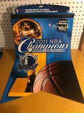 2011 DALLAS MAVERICKS NBA CHAMPIONS DYNASTY FELT BANNER CUBAN KIDD NOWITZKI