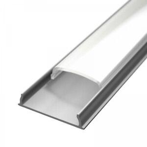 Alupona LED Aluprofil FORMA (FA)   2 Meter   eloxiert   Aufbauprofil biegsam