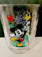DISNEY WORLD McDonalds Mickey Mouse 2000 Celebration Glass Magic Kingdom Series
