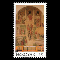 Faroe 1996 - Klaksvig Church Fine Art - Sc 311 MNH