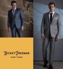 Hickey Freeman  Dress Pants Size 36 Regular Wool Unhemmed NWT $299  (071601500)