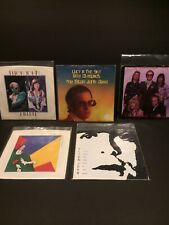 """lot of 5 ELTON JOHN Singles 45rpm 7"""" Lucy in the Sky/Don't Go Breaking/Philidelp"""