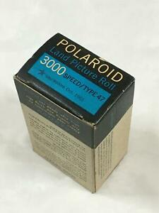 POLAROID LAND PICTURE ROLL 3000 SPEED  BLACK & WHITE FILM - TYPE 47 - OCT 1961