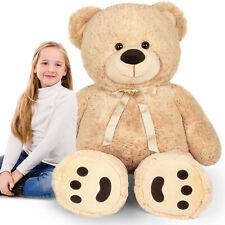 48'' 4 Feet Giant Teddy Bear Big Huge Stuffed Toy Birthday Gift for Kids Girls