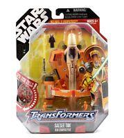 Star Wars Transformers - Saesee Tiin Jedi Starfighter Action Figure