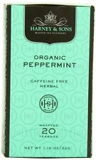 Harney and Sons Premium Tea Bags, Organic Peppermint, 20 Count, New, Free Shippi