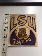 Vintage 1941 Rare* College Football Schedule LSU Tigers