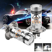 2X Car H7 100W CREE LED Fog Tail Driving Head Light Lamp Bulb White Super Bright