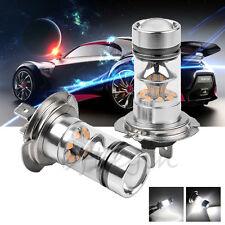 2X Car H7 100W CREE LED Fog Tail Driving Head Light Lamp Bulb White Super Bright