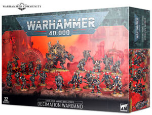 Chaos Space Marines: Battleforce Decimation Warband Warhammer 40k