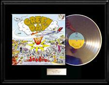 GREEN DAY DOOKIE WHITE GOLD SILVER PLATINUM TONE RECORD LP RARE