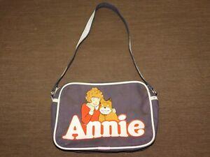 VINTAGE  TOY 1981   LITTLE ORPHAN  AVIVA ANNIE DOG SANDY CANVAS PURSE BAG