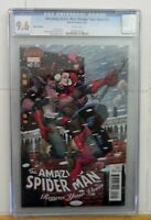 CGC 9.6 1:25 VARIANT AMAZING SPIDER-MAN RENEW YOUR VOWS 2A NM+ KENS COLLECTIBLES
