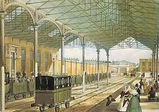 B100910 ironbridge gorge  museum trust shropshire train railroad postcard  uk