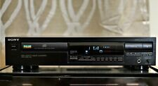 Sony Cdp-297 Stereo Single Compact Disc Cd Player Works Great (No Remote)