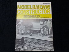 Model Railway Constructor Aug 1969 Rosedale GWR bow-ended 'B' Refrigerator Vans