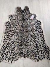 yingda1992 Leopard Rug Hide Animal Printed Cow Faux Fur Rug Mat Carpet Decor