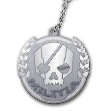 Titanfall Metall Schlüsselanhänger Militia Logo NEU & OVP