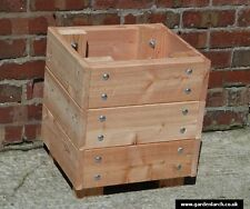 Wooden Garden Square Planter -  FSC Planter  450 x 450 x 450mm