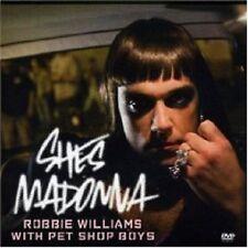 ROBBIE WILLIAMS Pet Shop Boys She's She's Madonna UK DVD VIDEO MIXES USA Seller