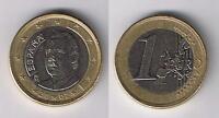 EURO(16) EIN-Euro-Münze 1,00 € SPANIEN 2002 Umlauf-Geldbörsenqualität Coin