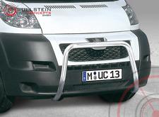 EU-Frontbügel / Frontschutzbügel 60mm für Peugeot Boxer 2007 bis 2014