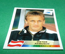 N°152 DIETER RAMUSCH ÖSTERREICH PANINI FOOTBALL FRANCE 98 1998 COUPE MONDE WM