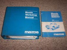 1992 Mazda B2200 B2600i B-Series Truck Workshop Shop Service Repair Manual Set