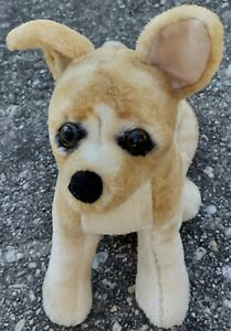 So Sweet & Realistic - Melissa & Doug Plush Beige/Brown Chihuahua Dog