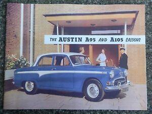 1956 AUSTIN A95 AND A105  BROCHURE