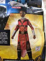 Girls Black Panther Costume Wakanda's Dora Milaje Childs Medium 8-10 With Spear