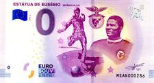 PORTUGAL Lisboa, Estátua de Eusébio, N° de la 3è, 2018, Billet 0 € Souvenir